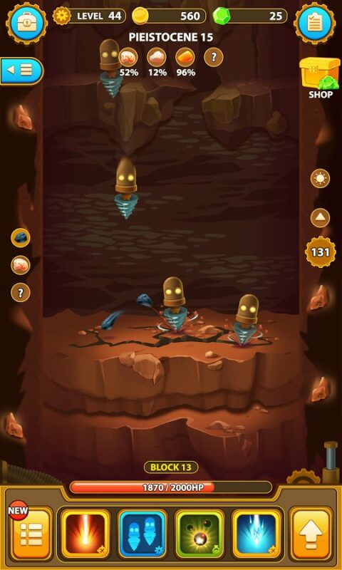 Скриншот Deep Town: Mining Factory для Android