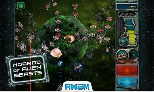 Скриншот Defender 3 для Android