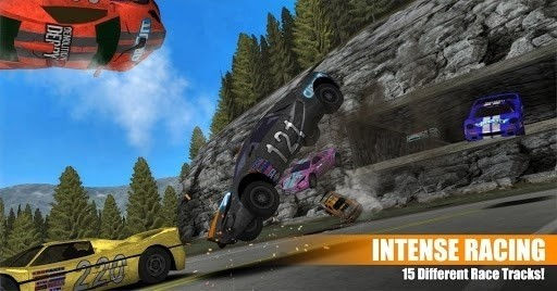 Скриншот Demolition Derby 2 для Android