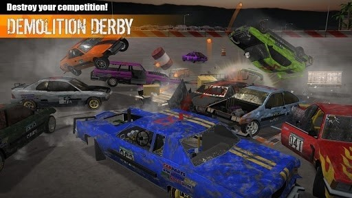 Скриншот Demolition Derby 3 для Android