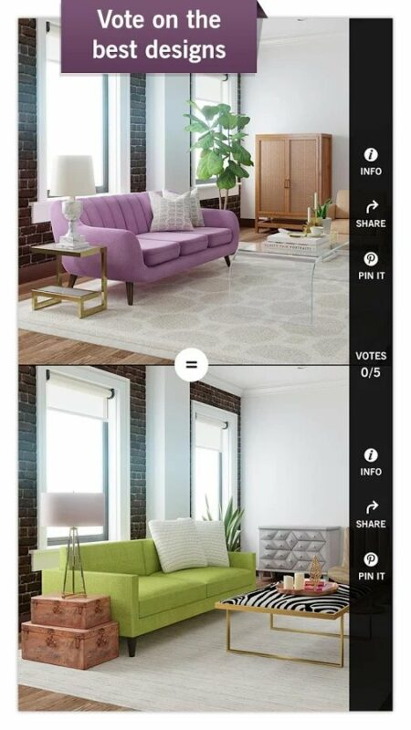 Скриншот Design Home для Android