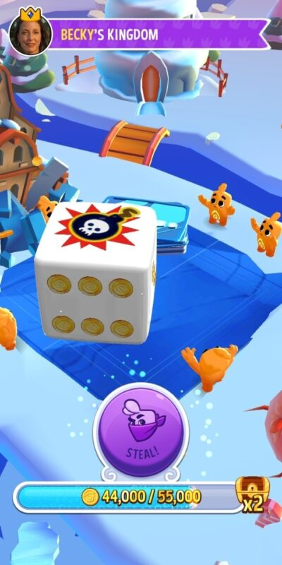 Скриншот Dice Dreams для Android