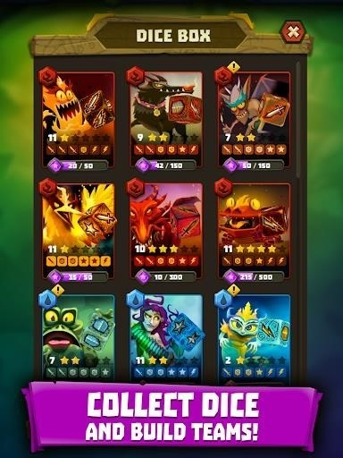 Скриншот Dice Hunter для Android