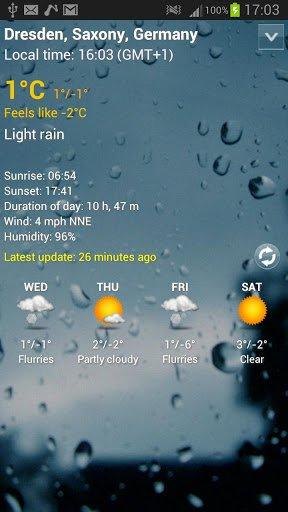 Скриншот Digital clock & world weather для Android