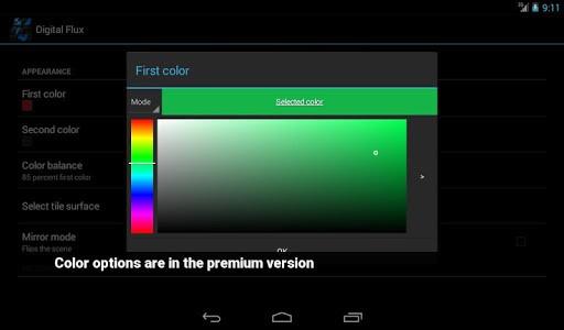 Скриншот Digital Flux для Android