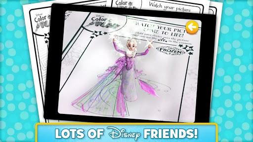 Скриншот Disney Color and Play для Android
