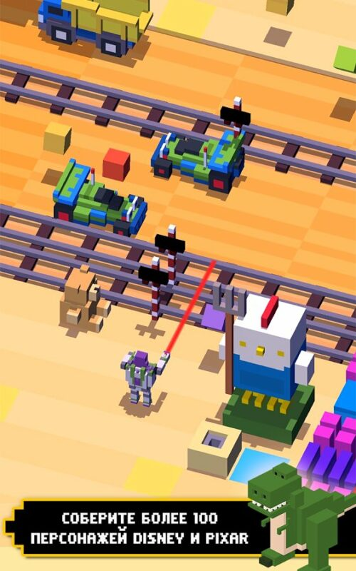 Скриншот Disney Crossy Road для Android