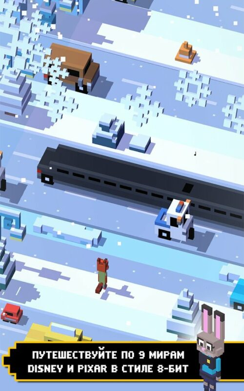 Скриншот Disney Crossy Road для Android