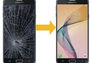 Замена дисплея Samsung Galaxy G7