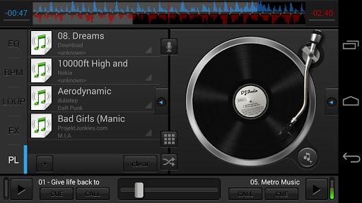 Скриншот DJ Studio 5 для Android