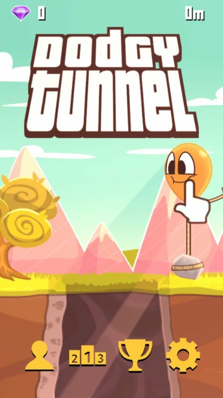 Скриншот Dodgy Tunnel для Android