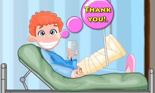 Скриншот Доктор Том Нога хирургии для Android
