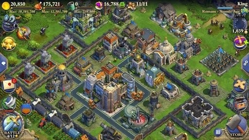 Скриншот DomiNations для Android
