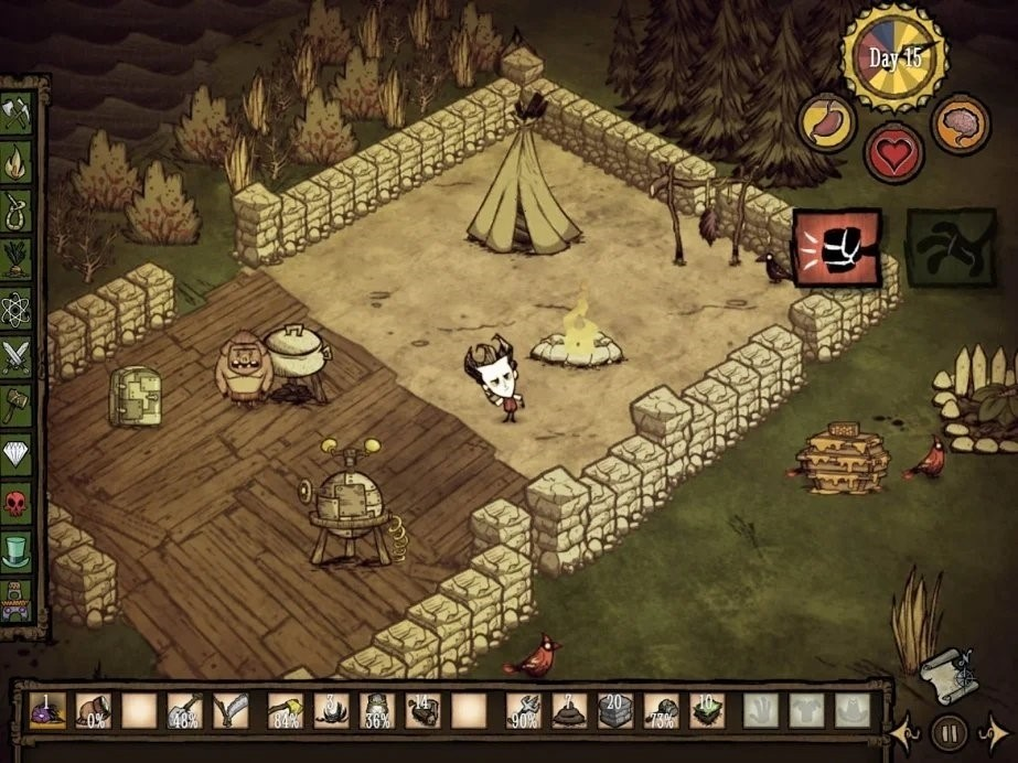 Скриншот Don t Starve для Android