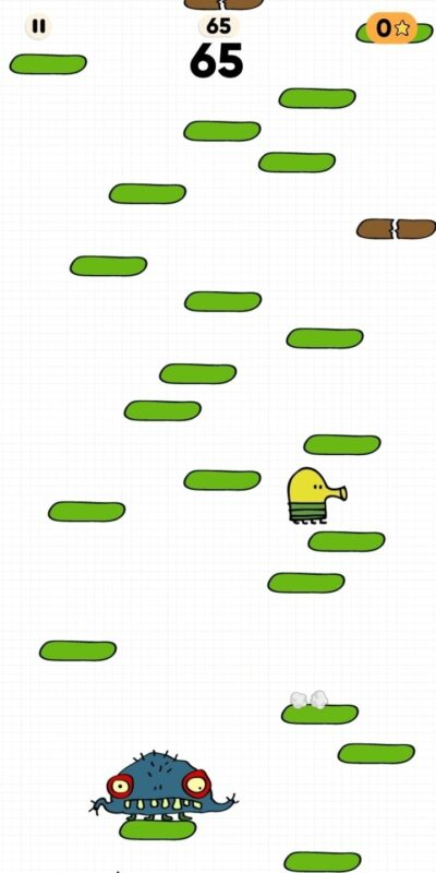 Скриншот Doodle Jump для Android