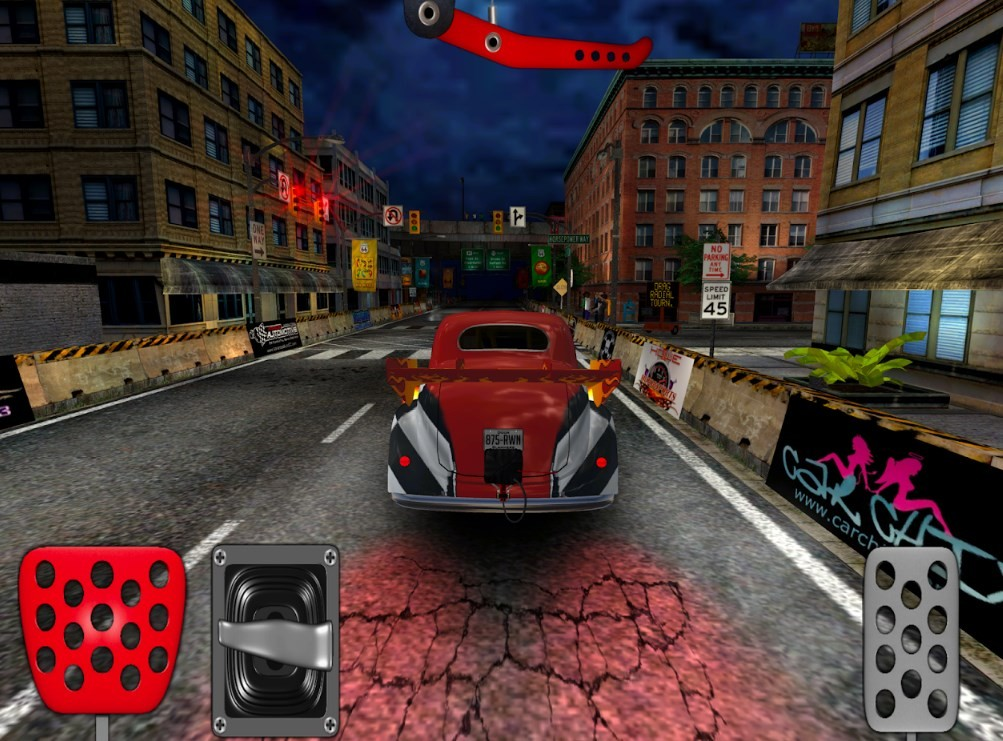 Скриншот Door Slammers 2 Drag Racing для Android