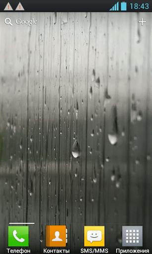Скриншот Дождь на стекле / Rain on the glass для Android