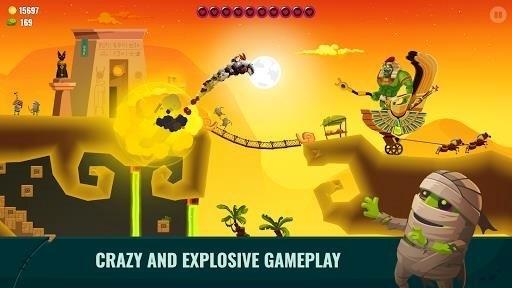 Скриншот Dragon Hills 2 для Android