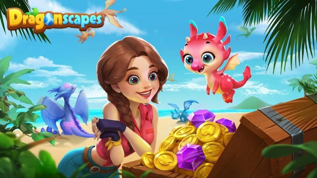 Скриншот Dragonscapes Приключение для Android