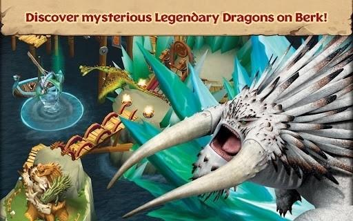 Скриншот Dragons: Rise of Berk для Android
