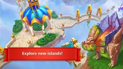 Скриншот Dragons World для Android
