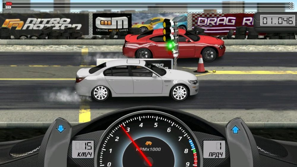 Скриншот Drag Racing Classic для Android