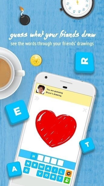 Скриншот Draw Something для Android