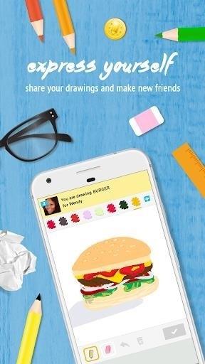 Скриншот Draw Something для Android