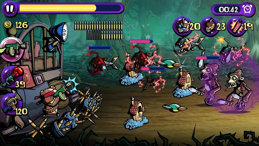 Скриншот Dream Defense для Android