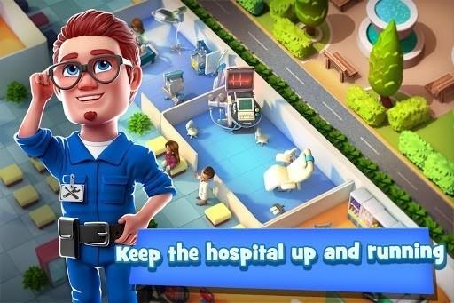 Скриншот Dream Hospital для Android