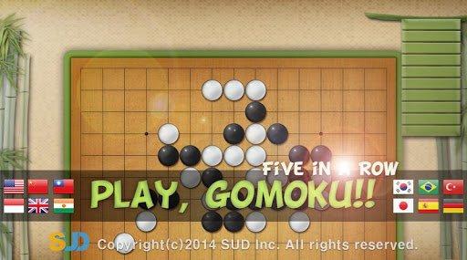 Скриншот Dr. Gomoku для Android