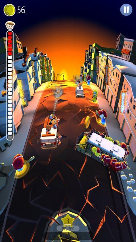 Скриншот Drifting School Bus для Android