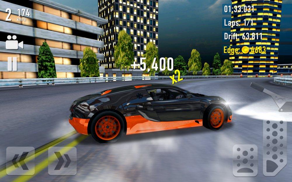 Скриншот Drift Max City для Android
