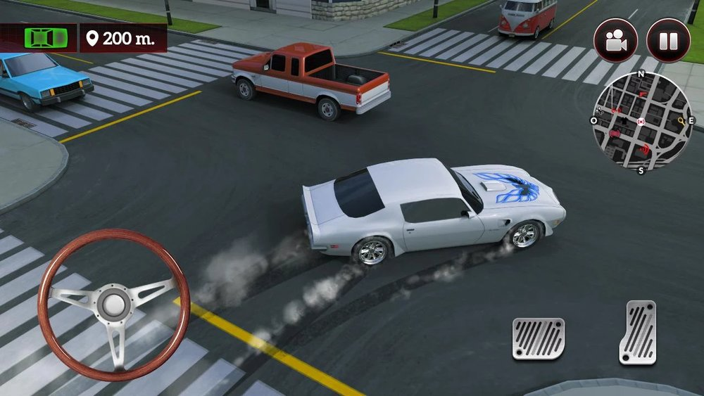 Скриншот Drive for speed: Simulator для Android
