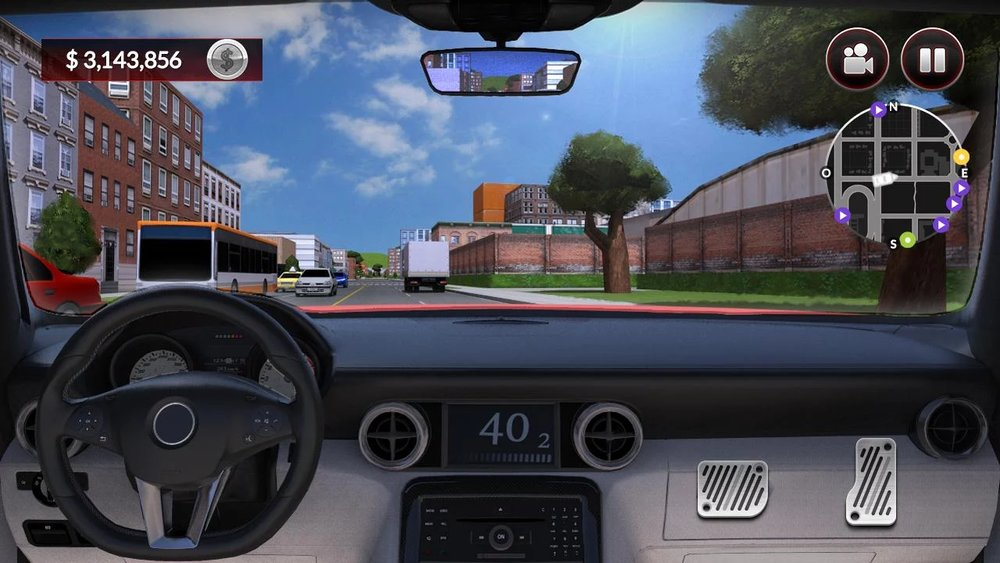 Скриншот Drive for speed: Simulator для Android