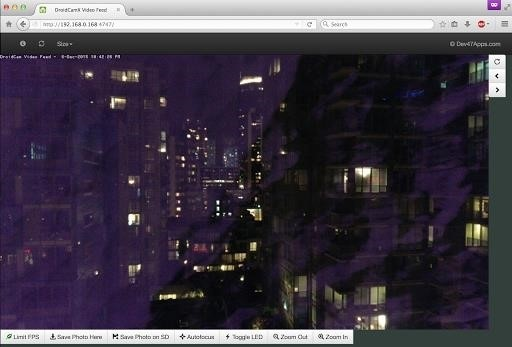 Скриншот DroidCam Wireless Webcam для Android