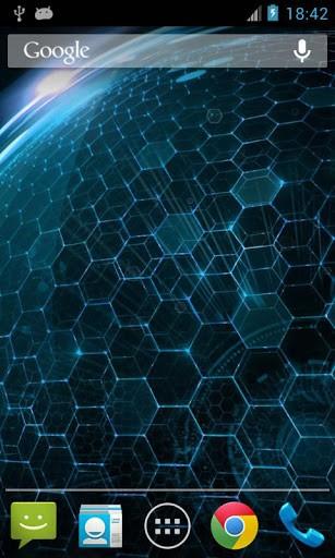 Скриншот Droid DNA живые обои для Android