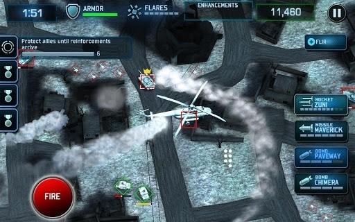 Скриншот Drone Shadow Strike для Android