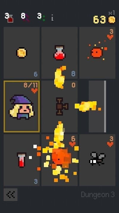 Скриншот Dungeon Cards для Android