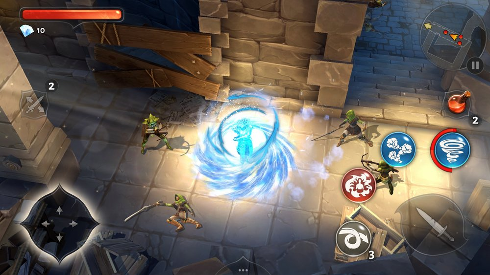 Скриншот Dungeon Hunter 5 для Android