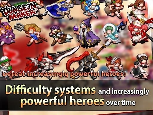 Скриншот Dungeon Maker для Android