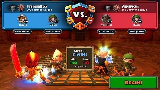 Скриншот Dungeon Quest для Android