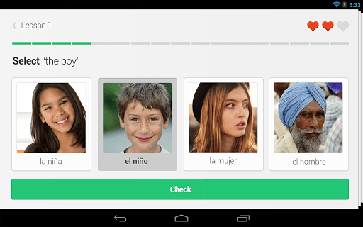 Скриншот Duolingo: Learn Languages Free для Android