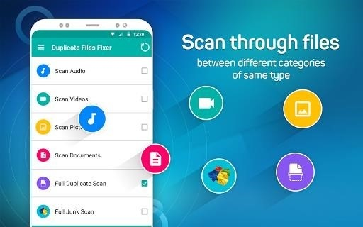 Скриншот Duplicate Files Fixer для Android