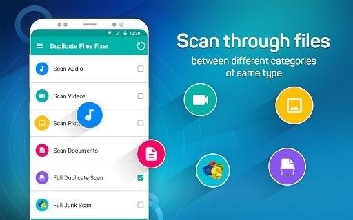 Скриншот Duplicate Files Fixer для Android