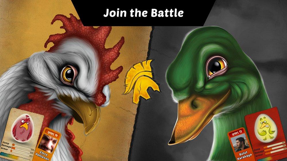 Скриншот Egg fight для Android