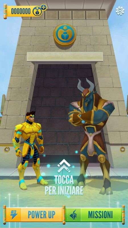 Скриншот Египтус: бег по лабиринту для Android