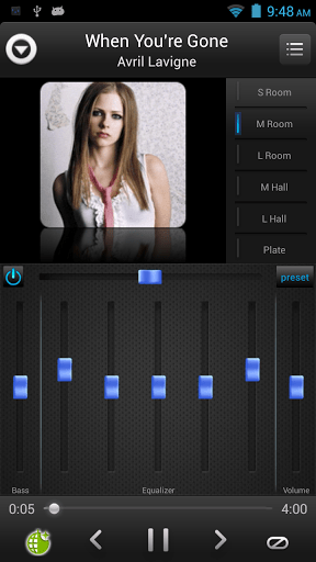 Скриншот Эквалайзер Music Player для Android