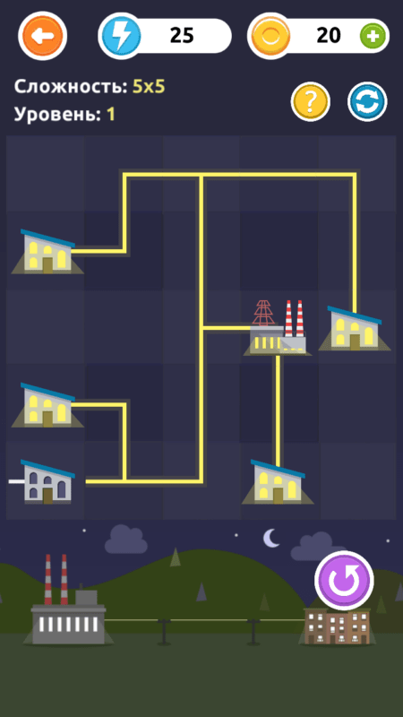 Скриншот Электрик — подключи дома для Android