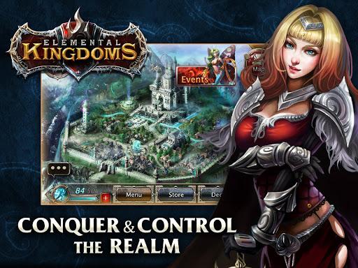 Скриншот Elemental Kingdoms (CCG) для Android